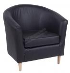 Кресло Tulsta черное