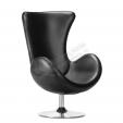 Кресло Egg черное