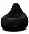 Кресло бескаркасное черное