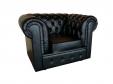 Кресло Chester черное