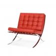Кресло Barcelona красное
