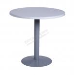 Стол d 80 cm.и 70 cm. белый