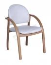 Кресло для переговоров белое