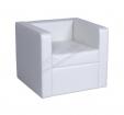 Кресло Baron белое